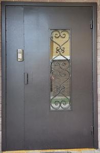 Монтаж домофона с новой дверью